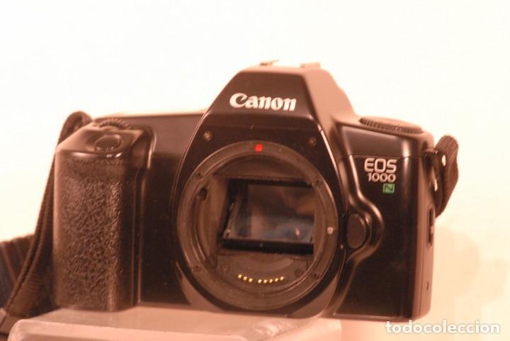 Cámara de fotos: camara canon eos 1000-n lleva correa nueva no funciona - Foto 4 - 141768454
