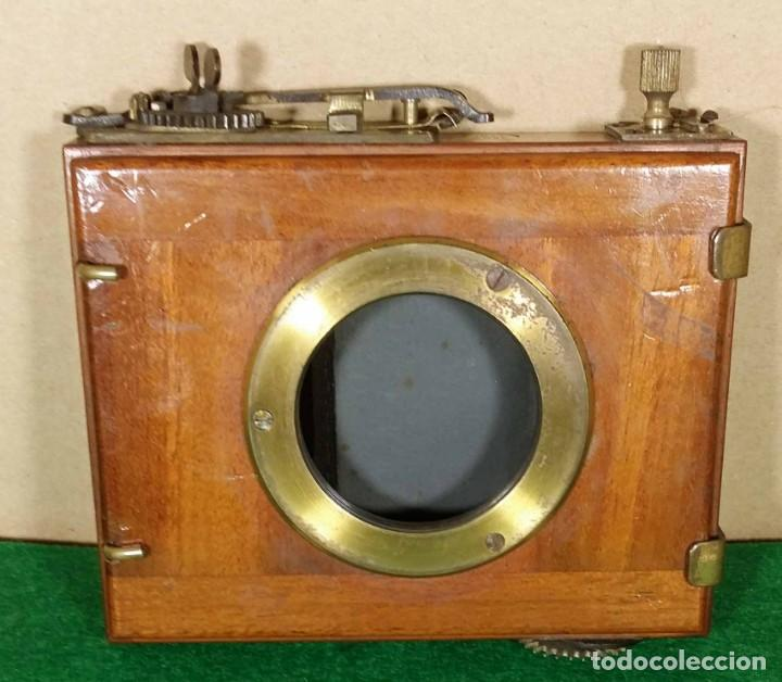 Cámara de fotos: OBTURADOR DE CORTINILLAS C 1900, DE MADERA - Foto 2 - 141888070