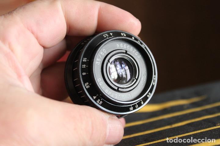 Cámara de fotos: Objetivo Industar 50mm F:3,5 (rosca 39mm) - Foto 2 - 142413718