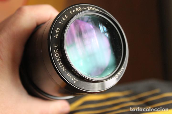 Cámara de fotos: Zoom Nikon Nikkor (AI) 80-200 F:4,5 - Foto 2 - 142421402
