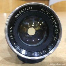 Cámara de fotos: AUTO YASHINON DX 50MM 1.4 MONTURA M42. Lote 142453310