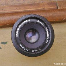 Cámara de fotos: AUTO REVUENON 55 - 2.8 - MONTRA DE ROSCA M42. Lote 142866462