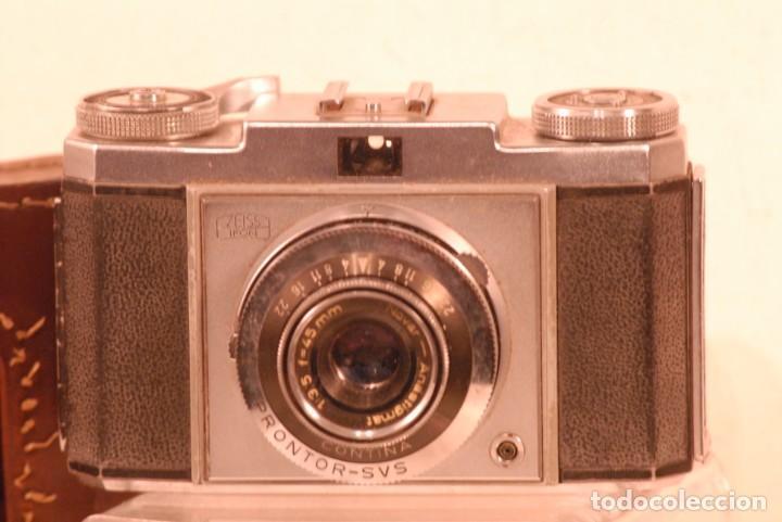 CAMARA ZEISS IKON CONTINA AÑO 1972 (Cámaras Fotográficas Antiguas - Objetivos y Complementos )