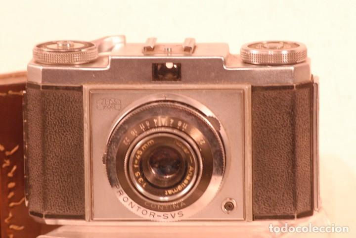 Cámara de fotos: camara zeiss ikon contina año 1972 - Foto 2 - 142959574