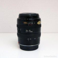 Cámara de fotos: OBJETIVO ZOOM CANON EF 28-70MM F 3.5 -4.5 II MACRO. Lote 143152698