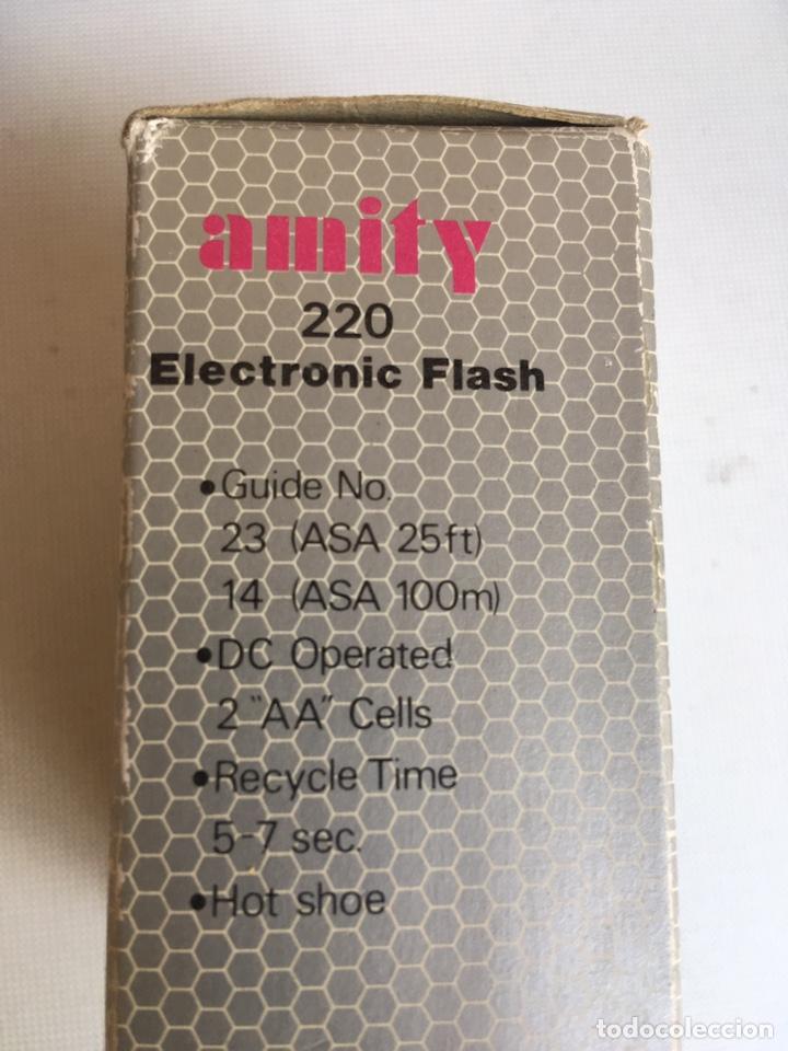 FLASH ELECTRONIC MODEL 220 AMITY (Cámaras Fotográficas Antiguas - Objetivos y Complementos )