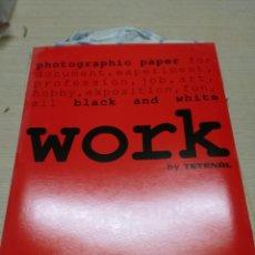 Cámara de fotos: WORK PAPEL FOTOGRAFICO SIN ABRIR.30X40CM.VER FOTOS. Lote 144894586