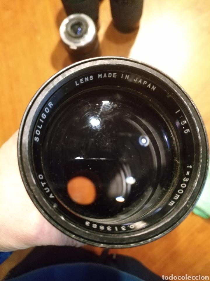 Cámara de fotos: Lote 6 objetivo cámara + camara yashica , canon lens panagor zykkor vivitar soligor - Foto 4 - 145473522