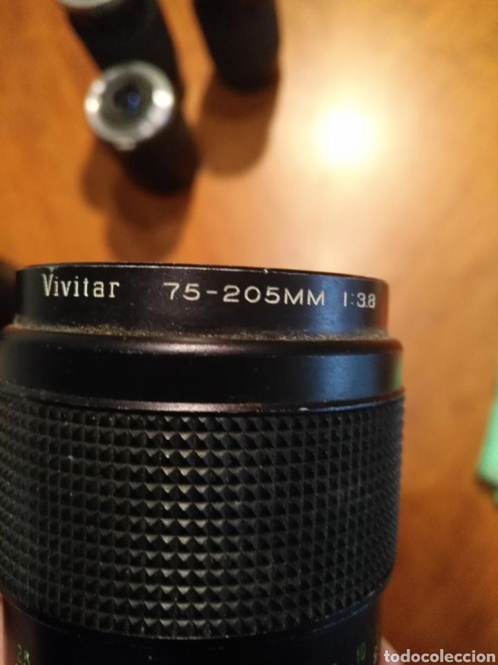 Cámara de fotos: Lote 6 objetivo cámara + camara yashica , canon lens panagor zykkor vivitar soligor - Foto 6 - 145473522