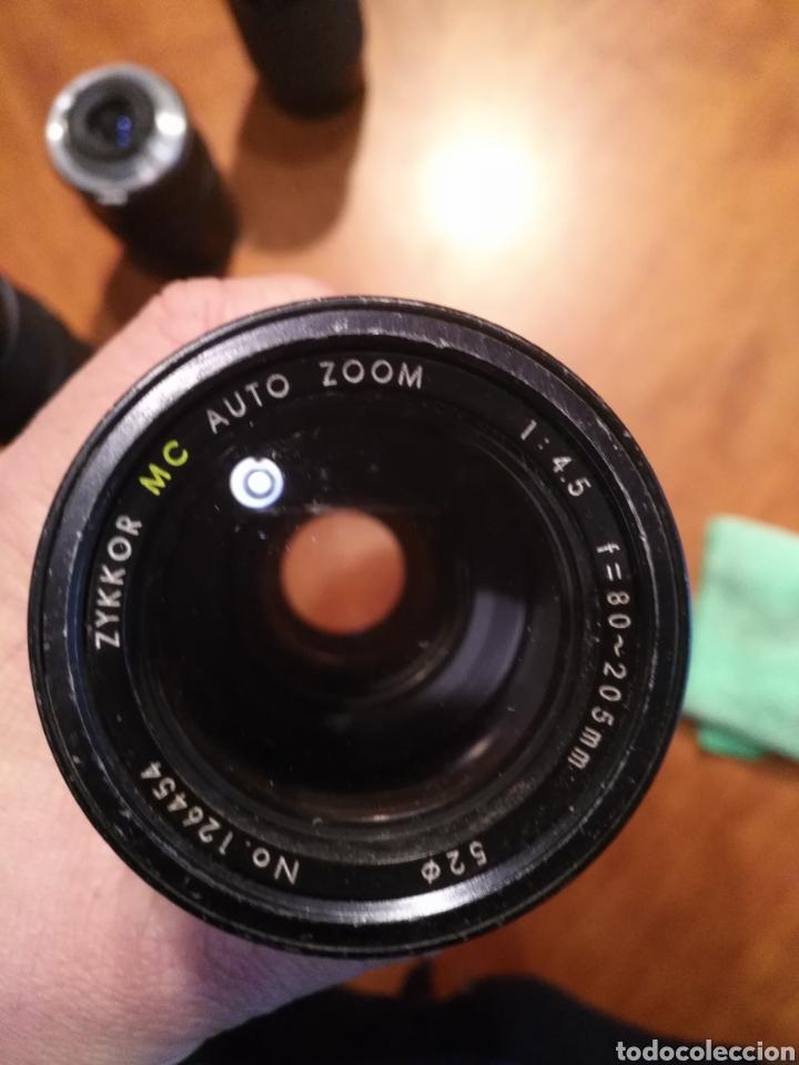 Cámara de fotos: Lote 6 objetivo cámara + camara yashica , canon lens panagor zykkor vivitar soligor - Foto 9 - 145473522