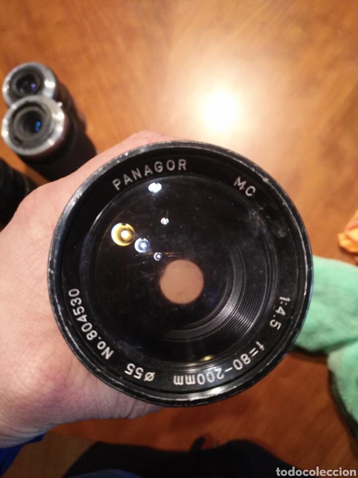 Cámara de fotos: Lote 6 objetivo cámara + camara yashica , canon lens panagor zykkor vivitar soligor - Foto 11 - 145473522