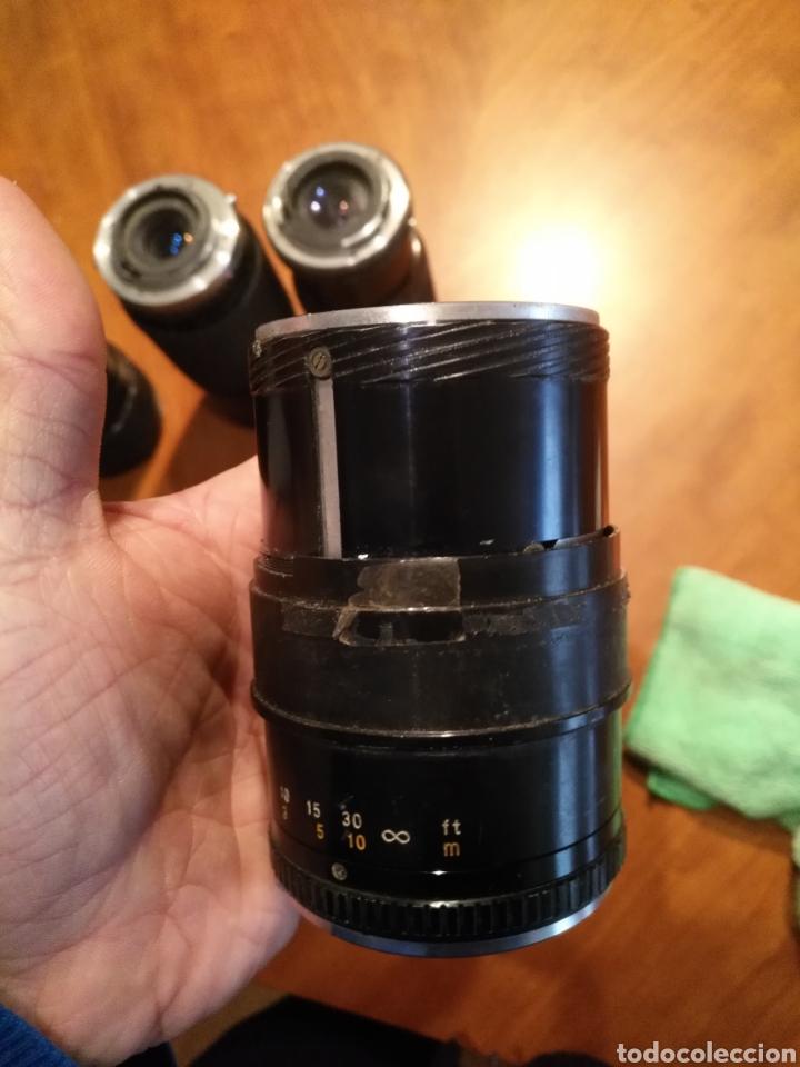 Cámara de fotos: Lote 6 objetivo cámara + camara yashica , canon lens panagor zykkor vivitar soligor - Foto 13 - 145473522