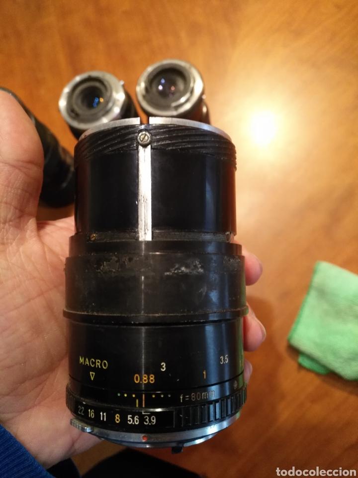 Cámara de fotos: Lote 6 objetivo cámara + camara yashica , canon lens panagor zykkor vivitar soligor - Foto 14 - 145473522