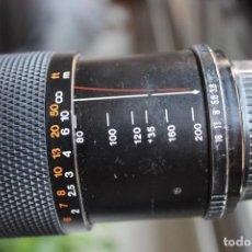 Cámara de fotos: TELEOBJETIVO 200 MM CHINON. Lote 146531478