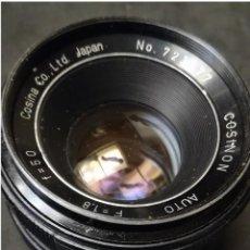 Cámara de fotos: OBJETIVO COSINON 50 MM. 1:1.8. ROSCA M42 TIPO PENTAX ANTIGUA. . Lote 147067674