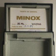 Cámara de fotos: ESTUCHE CAMARA MINOX 35 ML. Lote 147296710