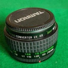 Cámara de fotos: CONVERTIDOR / DUPLICADOR X 2 TAMRON. Lote 147349010