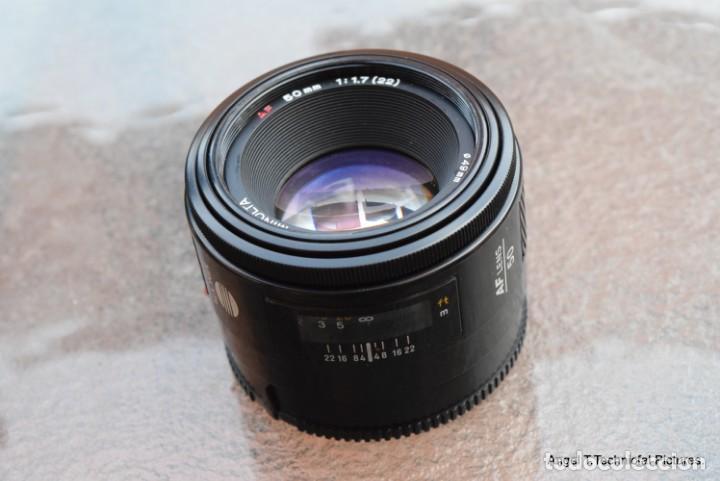Cámara de fotos: Minolta 50 1,7. Para todas las Sony Alpha. - Foto 3 - 147715582
