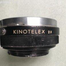 Cámara de fotos: DUPLICADOR PARA OBJETIVOS DE LA MARCA KINOTELEX 2X WEP AUTO. Lote 148197978