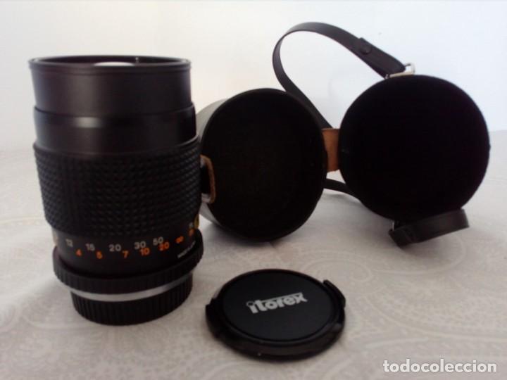 OBJETIVO ITOREX 135MM (Cámaras Fotográficas Antiguas - Objetivos y Complementos )