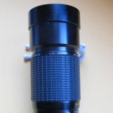 Cámara de fotos: OBJETIVO SIGMA ZOOM 75-200 MM./ 2,8-3,5 - MACRO.-- PARA REFLEX OLYMPUS DE LA SERIE - OM -. Lote 206290671