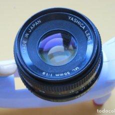 Fotokamera - OBJETIVO YASHICA 50 MM./1,9 CON MONTURA YASHICA-CONTAX ( Y/C ) - 148937918