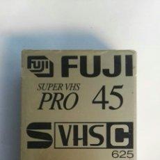 Cámara de fotos: CINTA VIRGEN VIDEOCAMARA FUJI 45 SUPER VHS PRO PRECINTADA. Lote 150083694