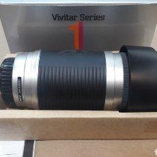 Cámara de fotos: OBJETIVO VIVITAR SERIES 1 100 - 400 MM AUTOFOCUS MINOLTA NUEVO. Lote 150996586