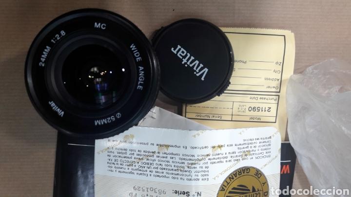 Cámara de fotos: OBJETIVO VIVITAR 24 mm CANON 52 mm NUEVO - Foto 2 - 151010104