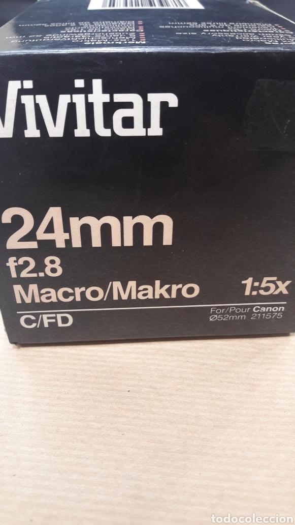 Cámara de fotos: OBJETIVO VIVITAR 24 mm CANON 52 mm NUEVO - Foto 5 - 151010104