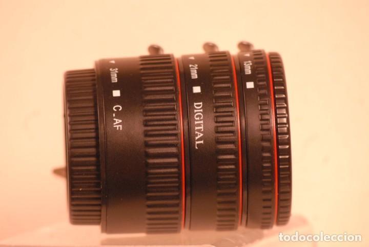 Cámara de fotos: digital 3 anillos macro 13-21-31 c. a.f canon - Foto 2 - 151721798