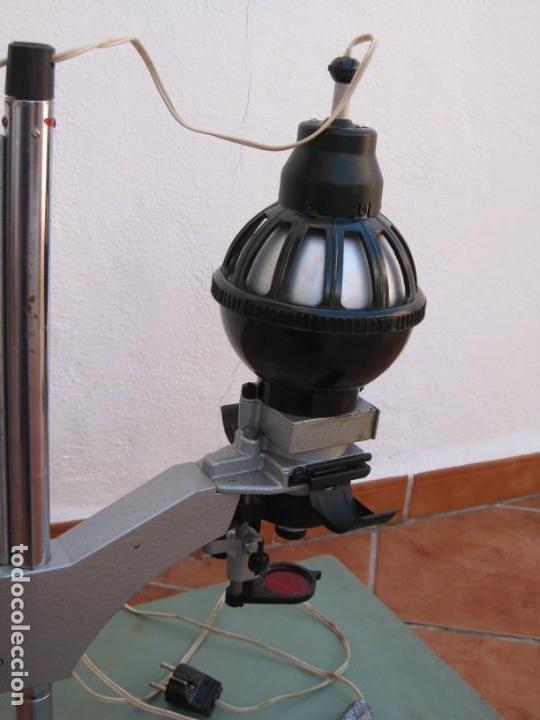 Cámara de fotos: Ampliadora fotográfica Antigua USSR portátil photo marca UPA-5M - Foto 24 - 152337086