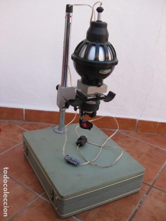 Cámara de fotos: Ampliadora fotográfica Antigua USSR portátil photo marca UPA-5M - Foto 25 - 152337086