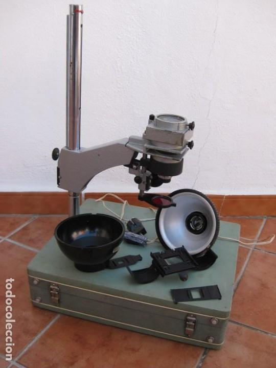 Cámara de fotos: Ampliadora fotográfica Antigua USSR portátil photo marca UPA-5M - Foto 33 - 152337086