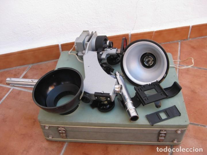 Cámara de fotos: Ampliadora fotográfica Antigua USSR portátil photo marca UPA-5M - Foto 34 - 152337086