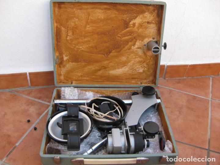Cámara de fotos: Ampliadora fotográfica Antigua USSR portátil photo marca UPA-5M - Foto 39 - 152337086