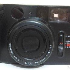 Cámara de fotos: OLYMPUS AZ-1 ZOOM 35MM FILM POINT CAMERA WITH CASE RETRO WORKING. Lote 152548390