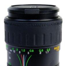 Cámara de fotos: OBJETIVO MACRO 1:5X- MARCA VISITAR-28-70 MM. Lote 154016402