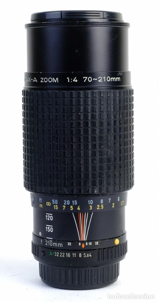OBJETIVO SMC PENTAX-A ZOOM 1:4 70-210 MM (Cámaras Fotográficas Antiguas - Objetivos y Complementos )