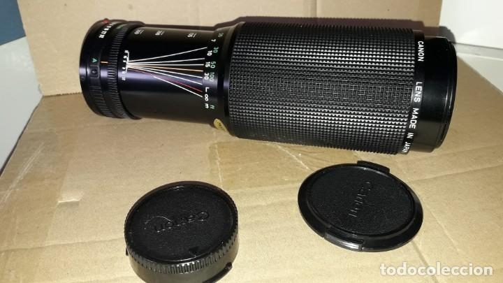 CANON FD 100-300MM 1:5.6 100-300 (Cámaras Fotográficas Antiguas - Objetivos y Complementos )