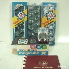Appareil photos: NUEVOS¡¡ 20X FLIP FLASH -2 CAJAS+3 MAGICUBE SYLVANIA-LAMPARA FLASH MAGI CUBE FLIP LAMPARA SUPER 10. Lote 192236423