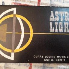 Cámara de fotos: LAMPA VIDEO/FOTO ASTRO LIGHT 1000W/3400K. Lote 154989858