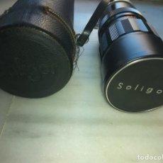 Cámara de fotos: OBJETIVO SOLIGOR AUTO- ZOOM F=75 MM - 260 MM. Lote 155388338