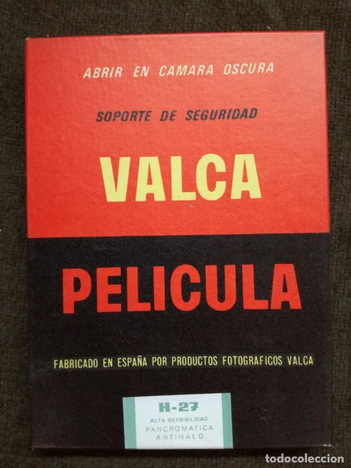 PAPEL FOTOGRAFICO PELICULA PLANA -VALCA-13X18-SIN ABRIR (Cámaras Fotográficas Antiguas - Objetivos y Complementos )