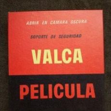 Cámara de fotos: PAPEL FOTOGRAFICO PELICULA PLANA -VALCA-13X18-SIN ABRIR. Lote 155919962