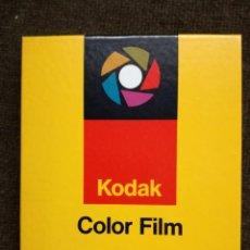 Cámara de fotos: PAPEL FOTOGRAFICO PELICULA PLANA.KODAK COLOR FILM.9X12 SIN ABRIR. Lote 155945422
