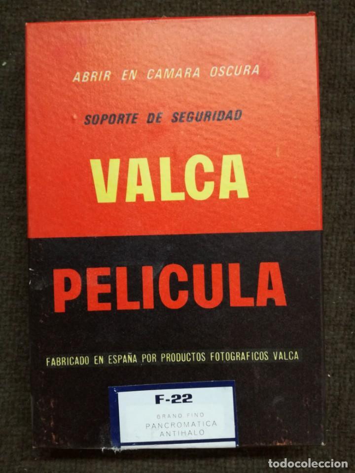 PAPEL FOTOGRAFICO PELICULA PLANA-VALCA-10X15.SIN ABRIR (Cámaras Fotográficas Antiguas - Objetivos y Complementos )