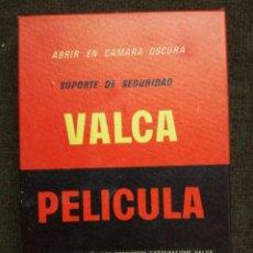 Cámara de fotos: PAPEL FOTOGRAFICO PELICULA PLANA-VALCA-10X15.SIN ABRIR. Lote 158362798