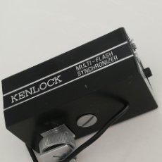 Cámara de fotos: MULTI-FLASH KENLOCK, ANTIGUO.. Lote 156914538