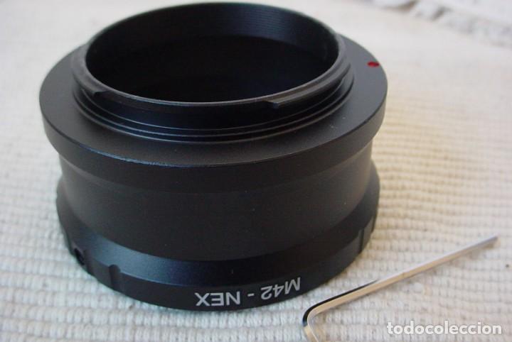 Cámara de fotos: Adaptador para Camara Sony NEX de Objetivos M42 - Foto 2 - 161860272